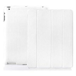 Чехол Jisoncase для iPad 2 белый (51750) - фото 12595