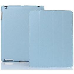 Чехол Jisoncase для iPad 2 голубой (51754) - фото 12598