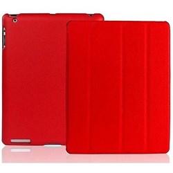 Чехол Jisoncase для iPad 2 красный (51751) - фото 12611