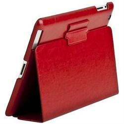 Чехол Sotomore для New iPad кожа бордовый (53930) - фото 13076