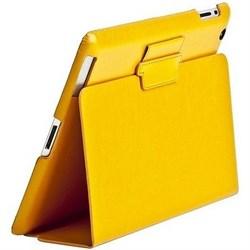 Чехол Sotomore для New iPad кожа желтый (53932) - фото 13088