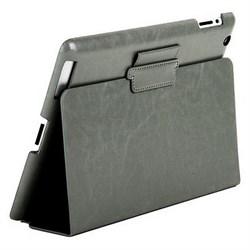 Чехол Sotomore для New iPad кожзам серый (54174) - фото 13112