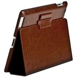Чехол Sotomore для New iPad кожа коричневый (53929) - фото 13124
