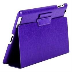 Чехол Sotomore для New iPad кожзам фиолетовый (54176) - фото 13136