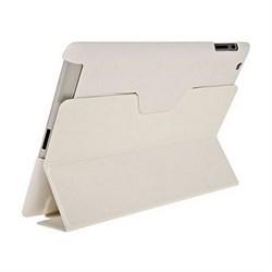 Чехол для New iPad с пластиковой зад.частью белый (52724) - фото 13227