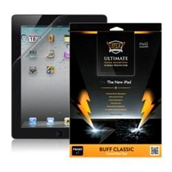 Плёнка Buff Classic Crystal для iPad 2/3/4 бронебойная глянцевая - фото 19611