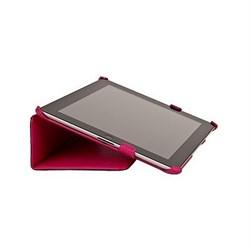 Чехол Antech PC Castle для New iPad кожа розовый (51010) - фото 19706