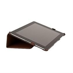 Чехол Antech PC Castle для New iPad кожа коричневый (51009) - фото 19710