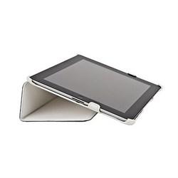 Чехол Antech PC Castle для New iPad кожа белый (51007) - фото 19714