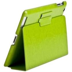 Чехол Sotomore для New iPad кожа зелёный (53933) - фото 20218