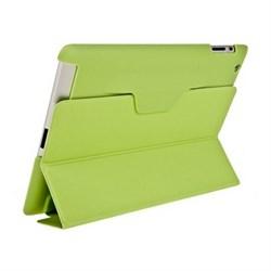 Чехол для New iPad с пластиковой зад.частью зелёный (52718) - фото 20224