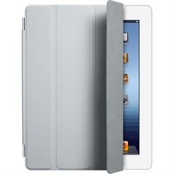 Обложка iPad Smart Cover - Полиуретан - Светло Серый - фото 20488