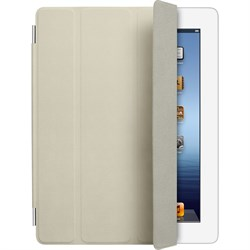 Чехол Apple Smart Cover Cream для iPad 2/New iPad кожа MD305 - фото 20493