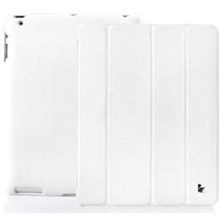 Чехол Jisoncase для iPad 2 белый с логотипом (52329) - фото 21276