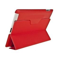 Чехол для New iPad с пластиковой зад.частью красный (52720) - фото 21277