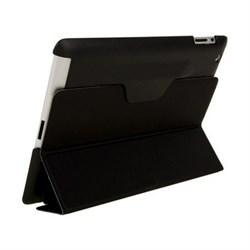 Чехол для New iPad с пластиковой зад.частью черный (52725) - фото 21278