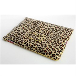 Чехол HOCO Leopard pattern для New iPad/iPad 2  (золотой) - фото 21956