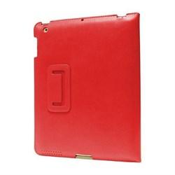 Чехол HOCO Ultra Thin для Apple iPad 2 с застёжкой кожа красный - фото 21957