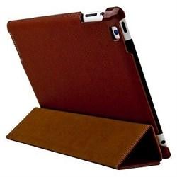 Чехол HOCO Three Angle Bracket Protective Case для iPad 2/3/4 (Brown) - фото 21964