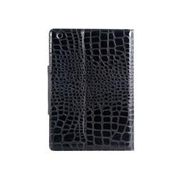 Чехол для iPad mini под крокодиловую кожу (черный) - фото 22036