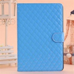 Чехол для iPad mini с прошивкой ромбами (черный) - фото 22038