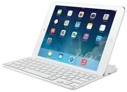 Клавиатура Logitech Ultrathin Keyboard Cover для iPad Air White - фото 22437