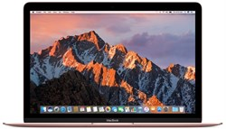 Ноутбук Apple MacBook 12'' Rose Gold MNYM2RU/A - фото 28923