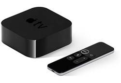 Телевизионная приставка Apple TV 4K 64Gb (MP7P2RS/A) - фото 29565