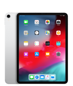 "Планшет Apple iPad Pro 11"" 1TB Wi-Fi + Cellular Silver (MU222RU/A) - фото 30248"