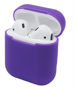 Чехол силиконовый Gurdini Soft Touch для AirPods фиолетовый - фото 30448