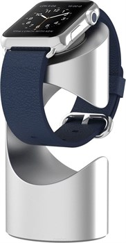 Подставка Just Mobile TimeStand for Apple Watch Silver  - фото 30453