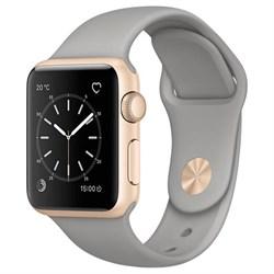 Спортивный ремешок Apple Watch 38mm с застежкой Stone - фото 30479