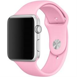 Спортивный ремешок Apple Watch 38mm с застежкой Pink - фото 30481