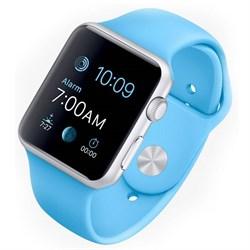Спортивный ремешок Apple Watch 42mm с застежкой Azure - фото 30486