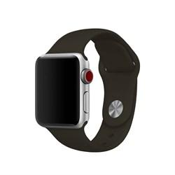 Спортивный ремешок Apple Watch 42mm с застежкой Dark Teal - фото 30487