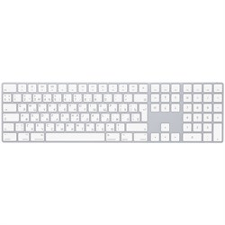 Клавиатура Magic Keyboard с цифровой панелью, русская раскладка, серебристый (MQ052RS/A) - фото 30554