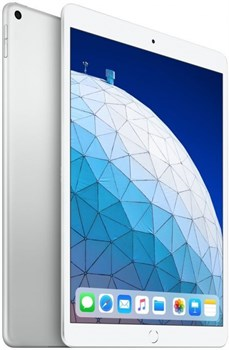 Планшет Apple iPad Air NEW 64GB Wi-Fi Silver (MUUK2RU/A) - фото 30606