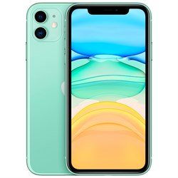 Смартфон Apple iPhone 11 64GB Green (Зёленый) - фото 30878