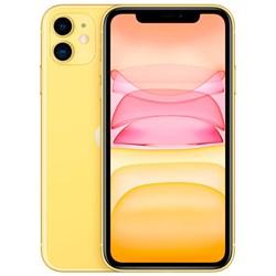 Смартфон Apple iPhone 11 64GB Yellow (Жёлтый) - фото 30885