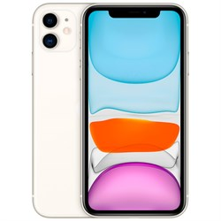 Смартфон Apple iPhone 11 64GB White (Белый) - фото 30902