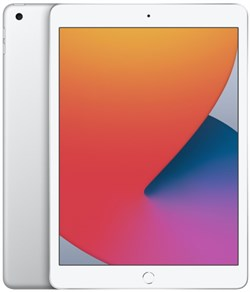 "Планшет Apple iPad 10,2"" 32GB Wi‑Fi Silver (MYLA2RU/A) - фото 32415"