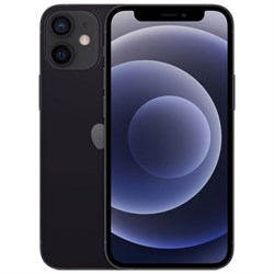 Смартфон Apple iPhone 12 mini 128GB Black (Чёрный) - фото 32963