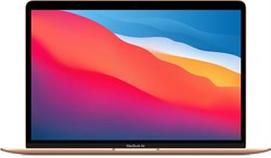 "Ноутбук APPLE MacBook Air M1 13.3"", IPS, Apple M1 8ГБ, 256ГБ SSD, Mac OS, MGND3RU/A, золотой - фото 33502"