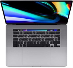 "Ноутбук APPLE MacBook Pro 16"", IPS, Intel Core i9 9880H 2.3ГГц, 16ГБ, 1ТБ SSD, Radeon Pro 5500M - 4096 Мб, macOS, MVVK2RU/A, серый - фото 33566"