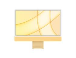 "Моноблок APPLE iMac, 24"", Apple M1, 8ГБ, 512ГБ SSD, Apple, macOS, жёлтый - фото 34157"