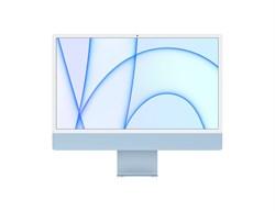 "Моноблок APPLE iMac MJV93RU/A, 24"", Apple M1, 8ГБ, 256ГБ SSD, Apple, macOS, синий - фото 34191"