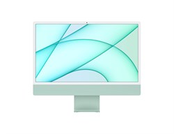 """Моноблок APPLE iMac MJV83RU/A, 24"""", Apple M1, 8ГБ, 256ГБ SSD, Apple, macOS, зелёный - фото 34197"""