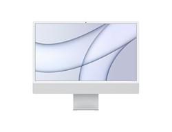 """Моноблок APPLE iMac MGTF3RU/A, 24"""", Apple M1, 8ГБ, 256ГБ SSD, Apple, macOS, серебристый - фото 34209"""