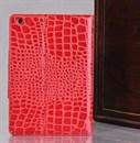 Чехол для iPad mini под крокодиловую кожу (красный)
