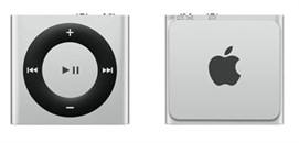iPod Shuffle New 2 Gb (Серебристый)